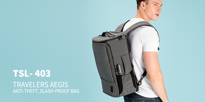[TSL-403] TRAVELERS AEGIS BACKPACK ★12월20일 이후 입고예정★