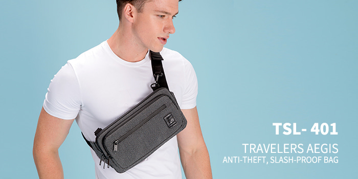 [TSL-401] TRAVELERS AEGIS CROSS BAG