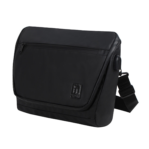 [TSL-302] TRAVELERS BLACK MESSEMGER BAG (품절)