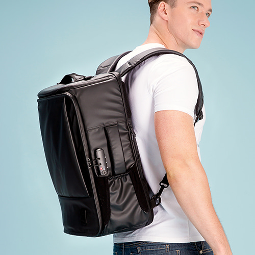 [수능맞이 할인! (11.7~22)] [TSL-303] TRAVELERS BLACK BACKPACK